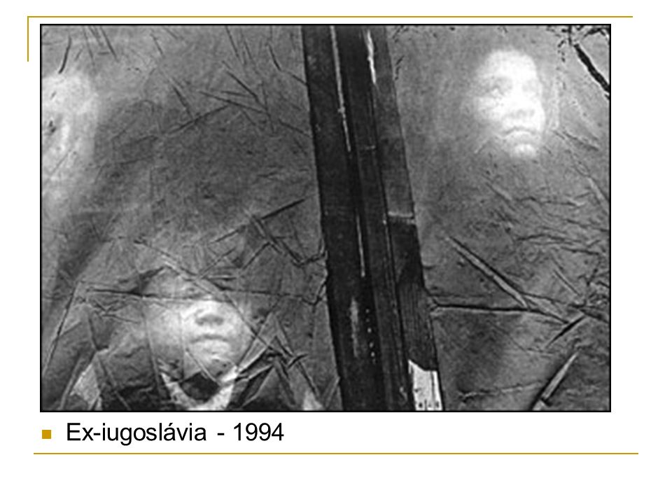 Ex-iugoslávia - 1994