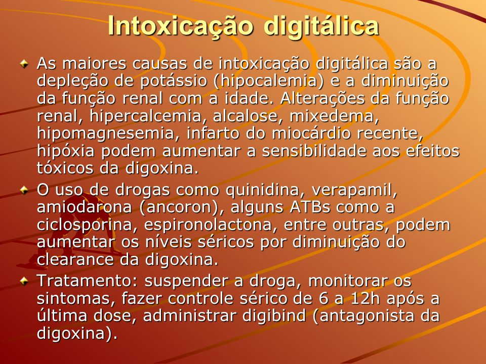 Intoxicação digitálica