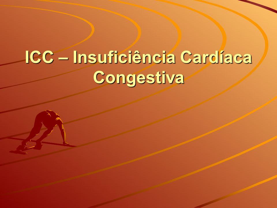 ICC – Insuficiência Cardíaca Congestiva