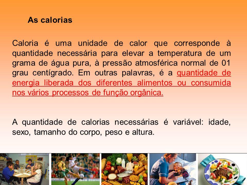 As calorias
