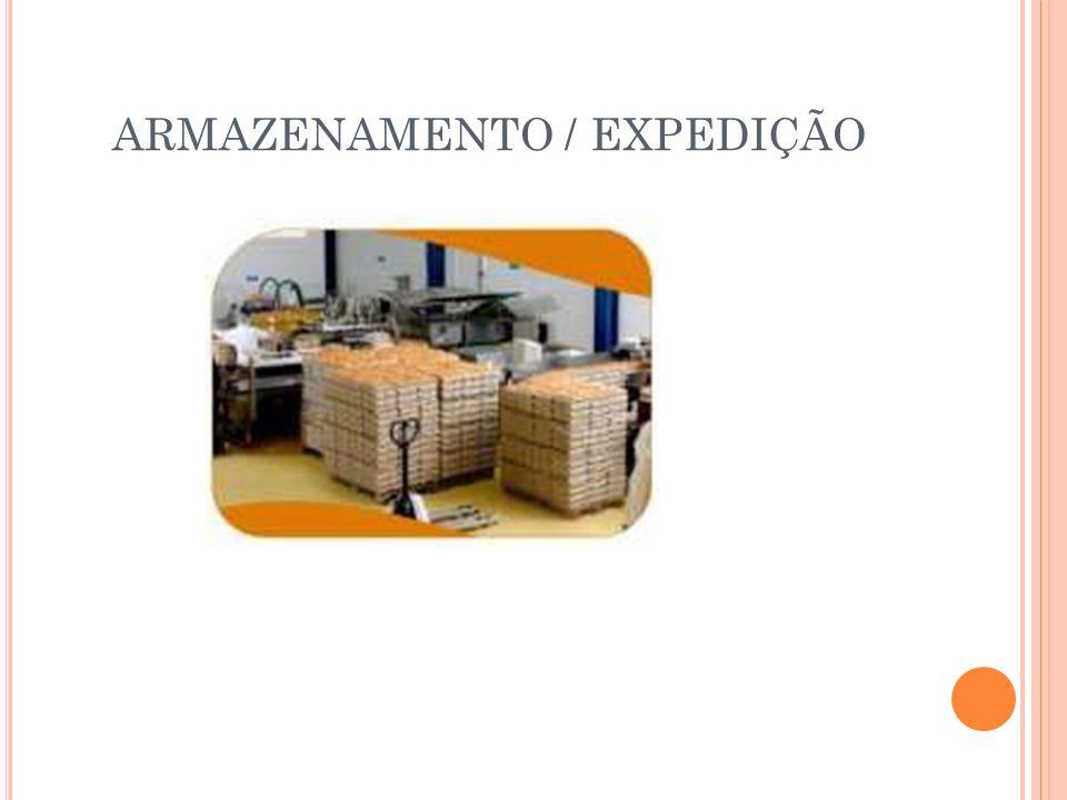 ARMAZENAMENTO / EXPEDIÇÃO