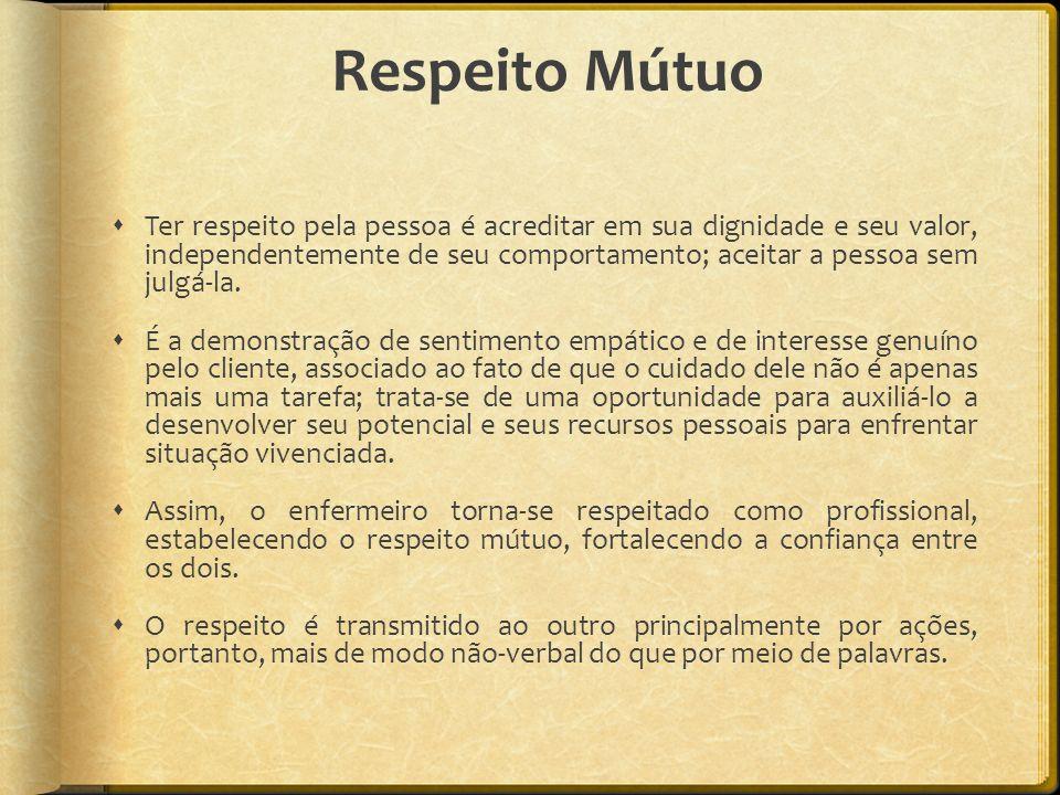 Respeito Mútuo