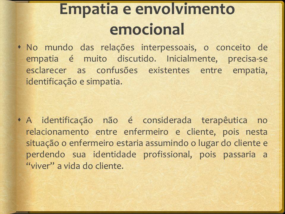 Empatia e envolvimento emocional