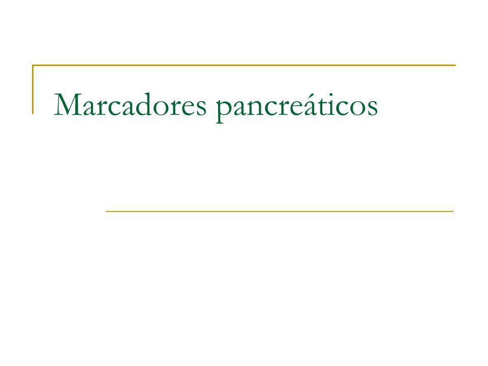 Marcadores pancreáticos