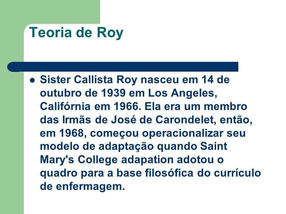 Teoria de Roy