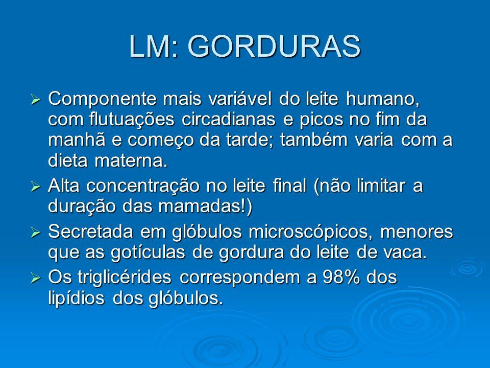 LM: GORDURAS