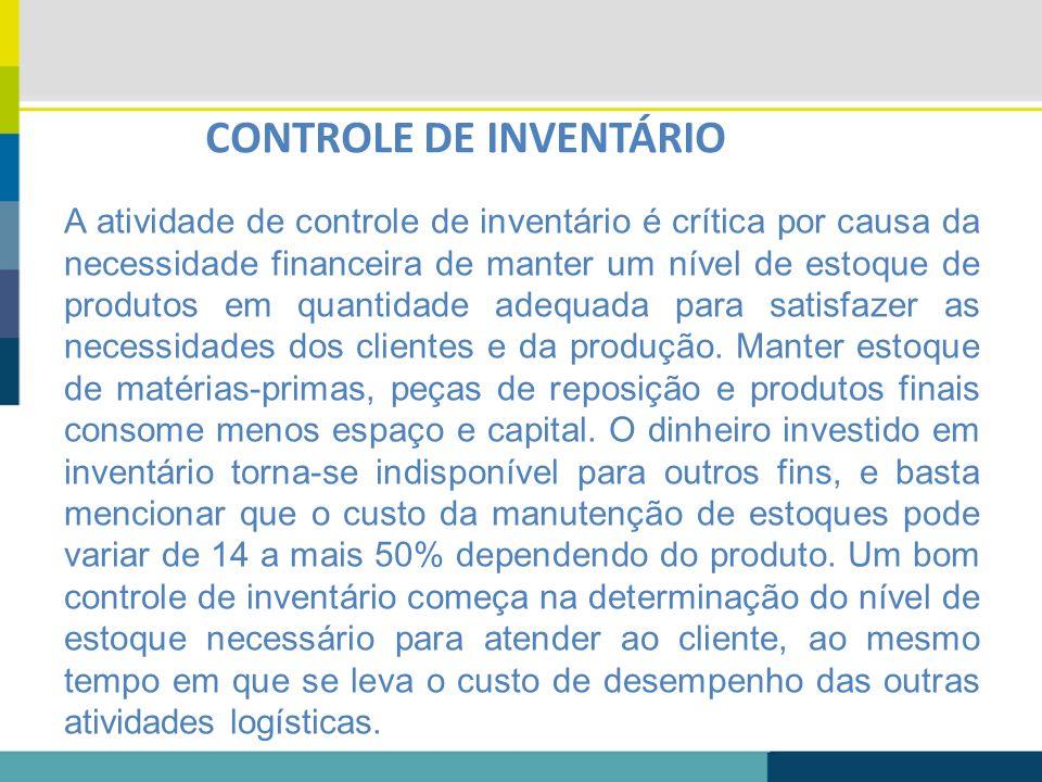 CONTROLE DE INVENTÁRIO