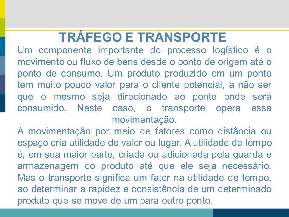 TRÁFEGO E TRANSPORTE