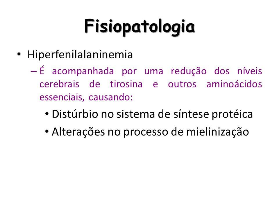 Fisiopatologia Hiperfenilalaninemia