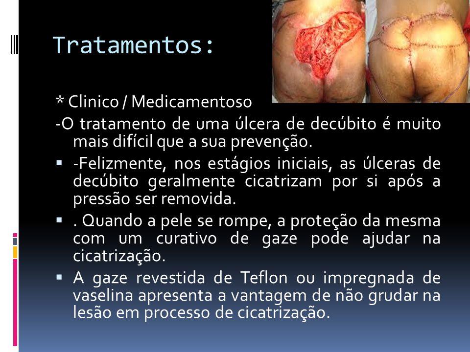 Tratamentos: * Clinico / Medicamentoso