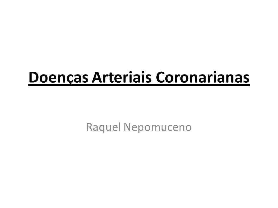 Doenças Arteriais Coronarianas
