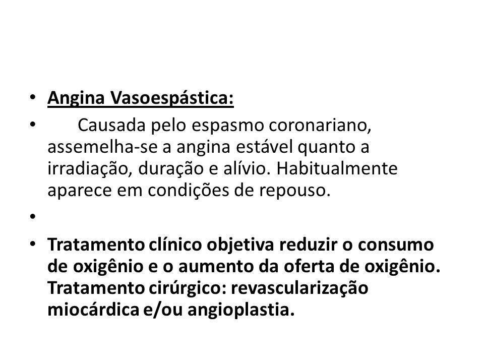 Angina Vasoespástica:
