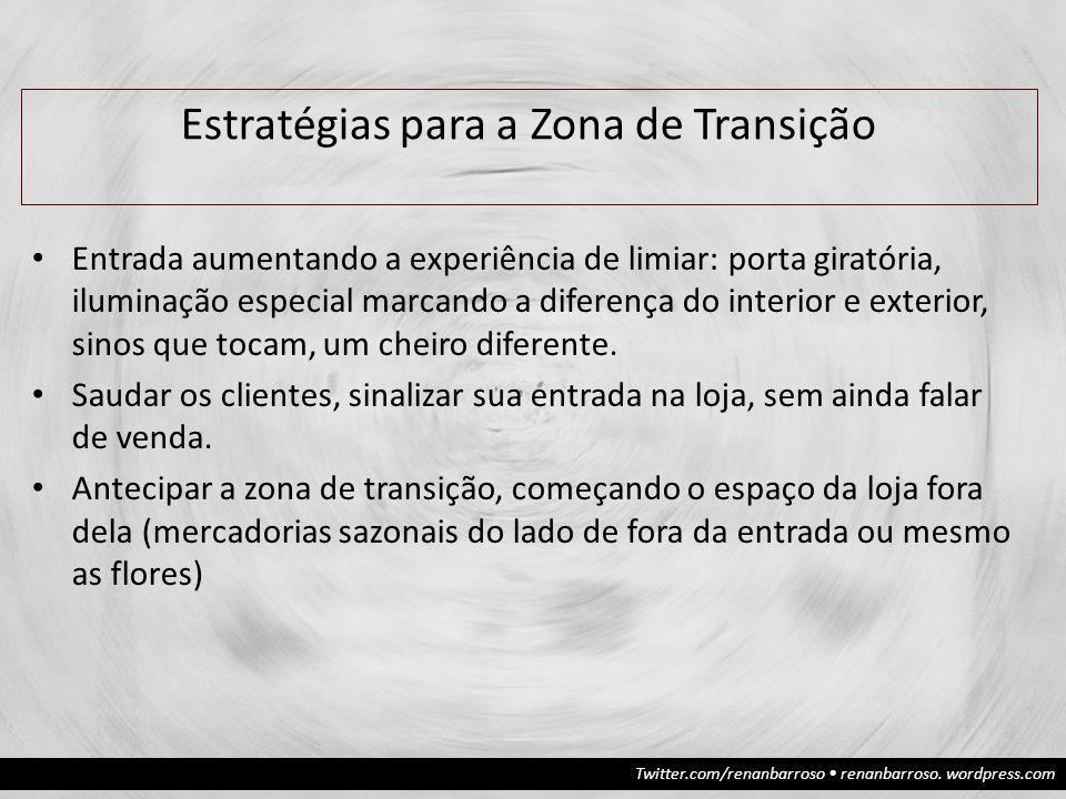 Estratégias para a Zona de Transição