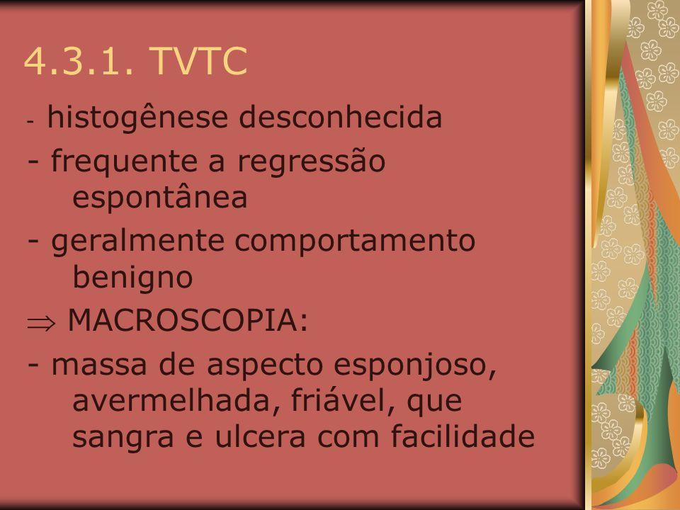 4.3.1. TVTC - frequente a regressão espontânea