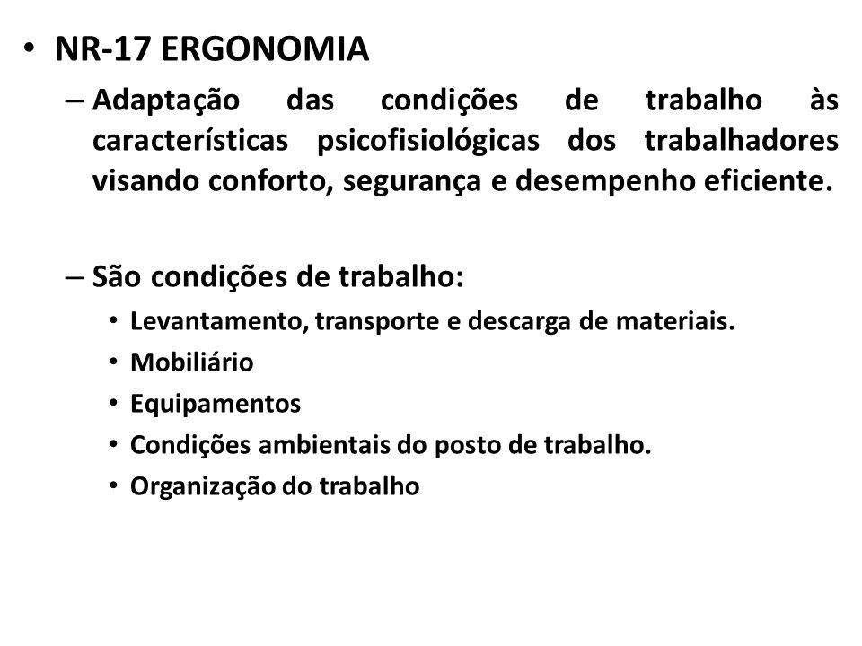 NR-17 ERGONOMIA