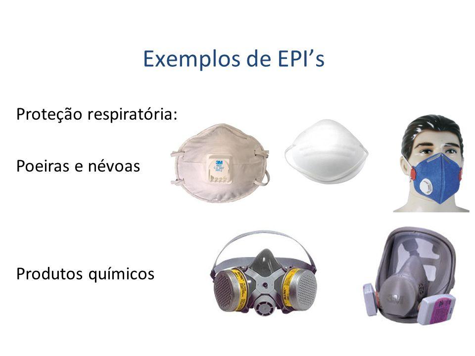 Proteção respiratória: