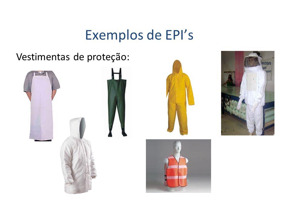 Vestimentas de proteção: