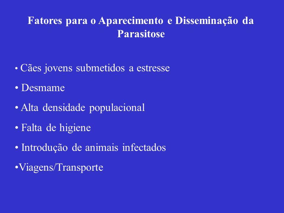 Fatores para o Aparecimento e Disseminação da Parasitose