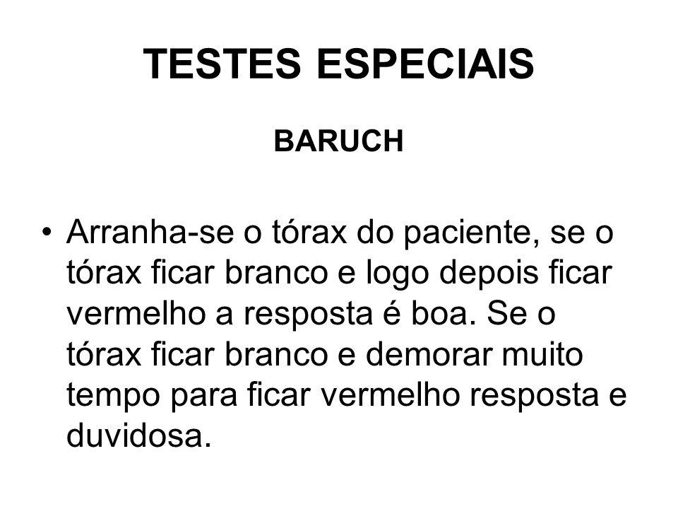 TESTES ESPECIAIS BARUCH.