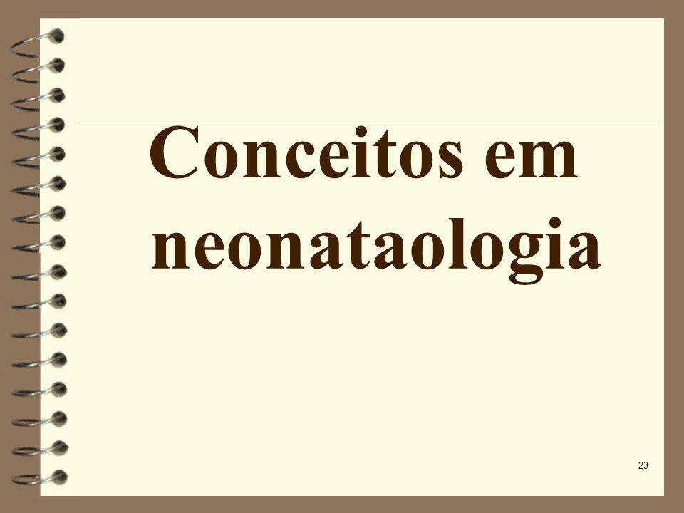Conceitos em neonataologia