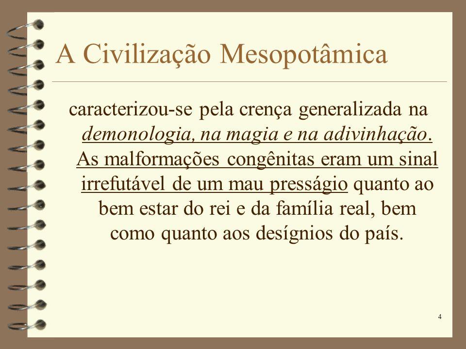 A Civilização Mesopotâmica