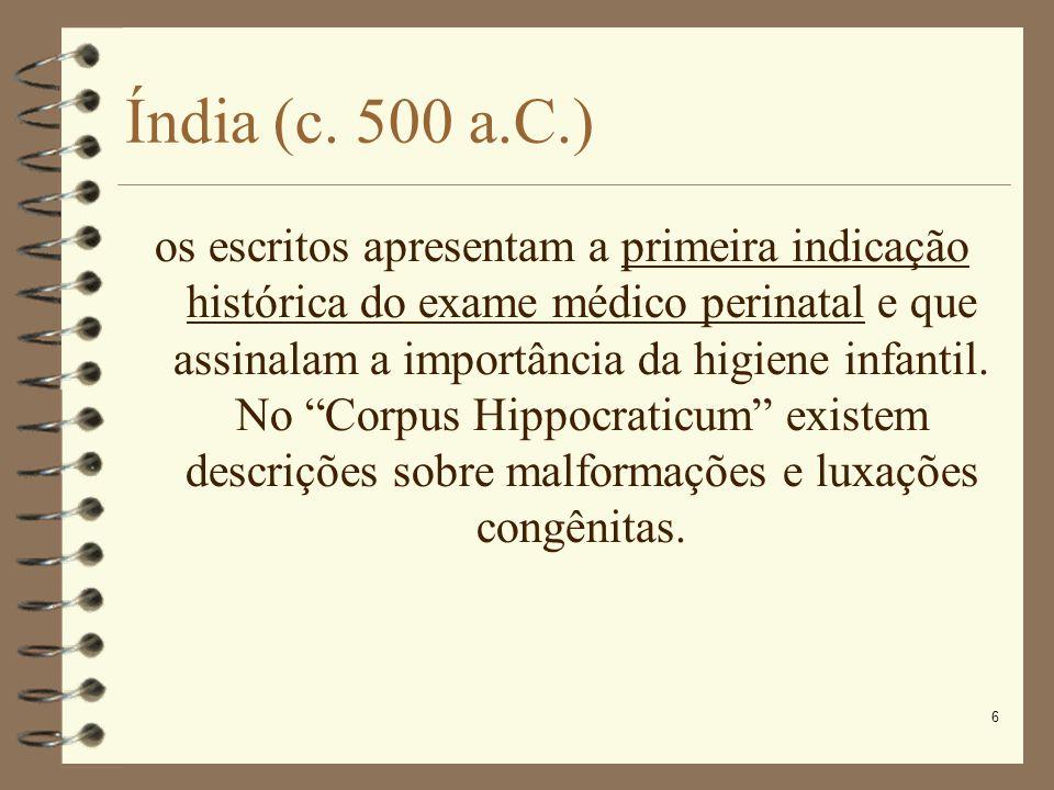 Índia (c. 500 a.C.)
