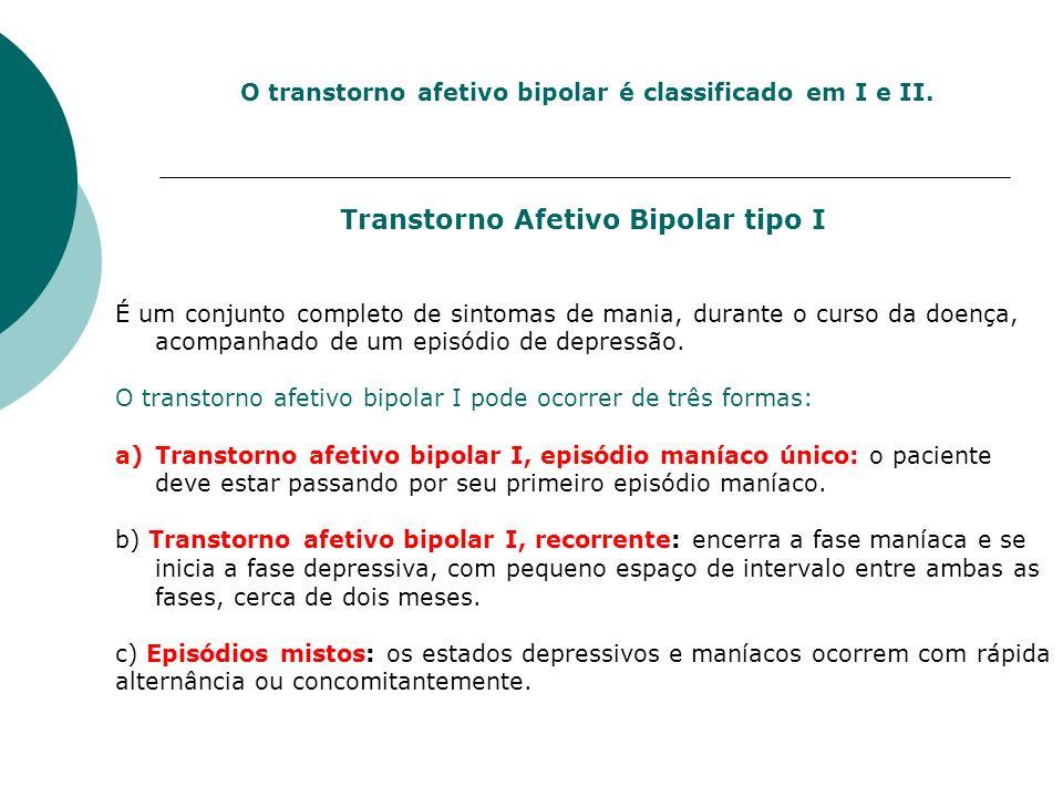 Transtorno Afetivo Bipolar tipo I