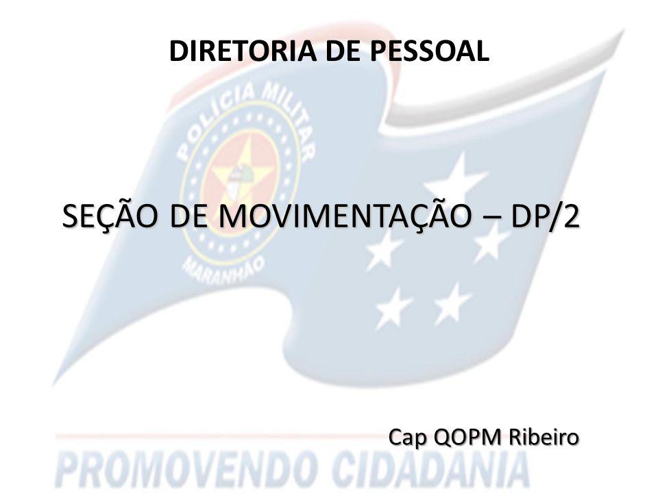 SEÇÃO DE MOVIMENTAÇÃO – DP/2