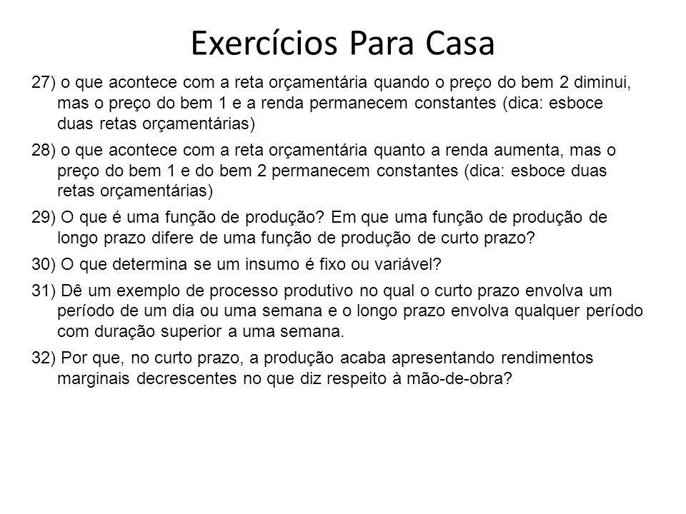 Exercícios Para Casa