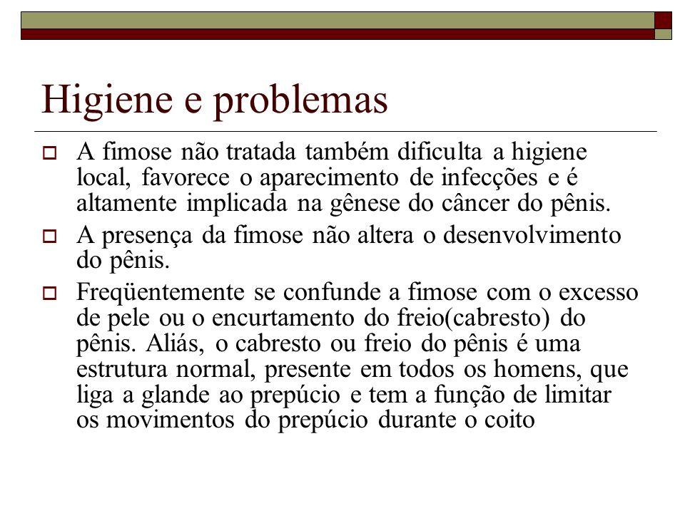 Higiene e problemas