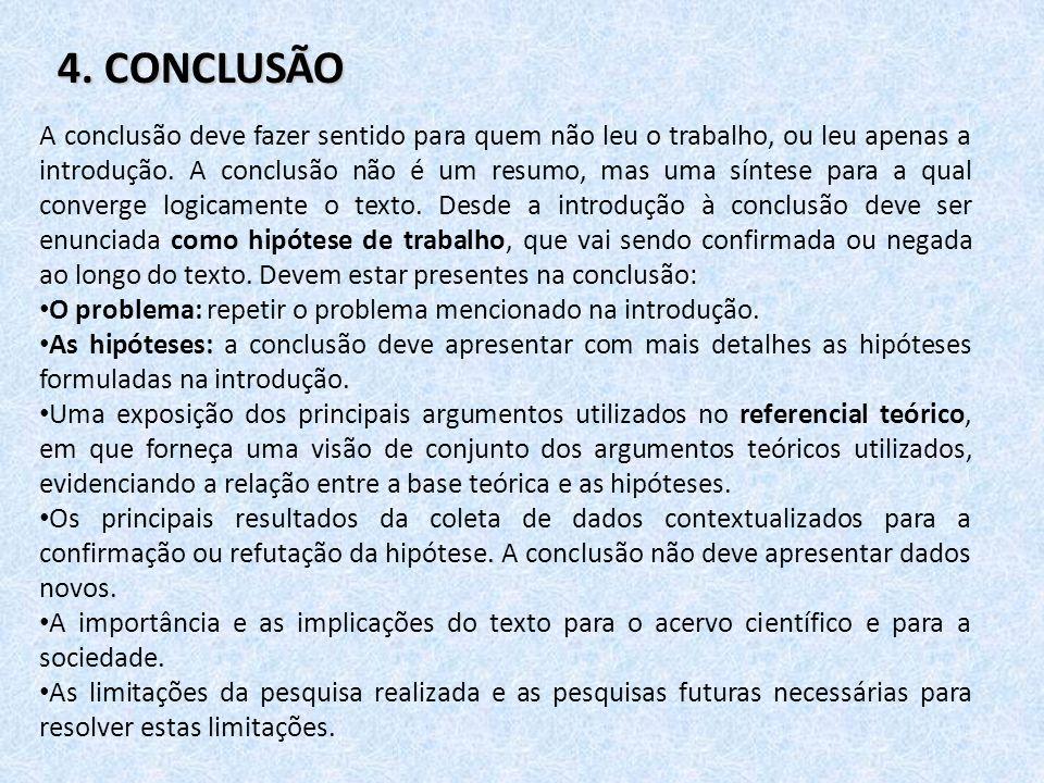 4. CONCLUSÃO