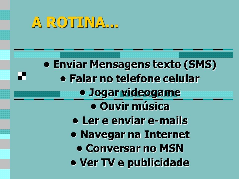• Enviar Mensagens texto (SMS) • Falar no telefone celular
