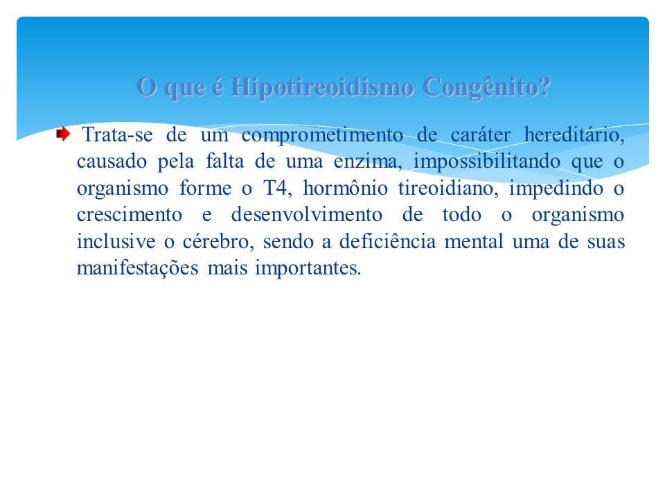 O que é Hipotireoidismo Congênito