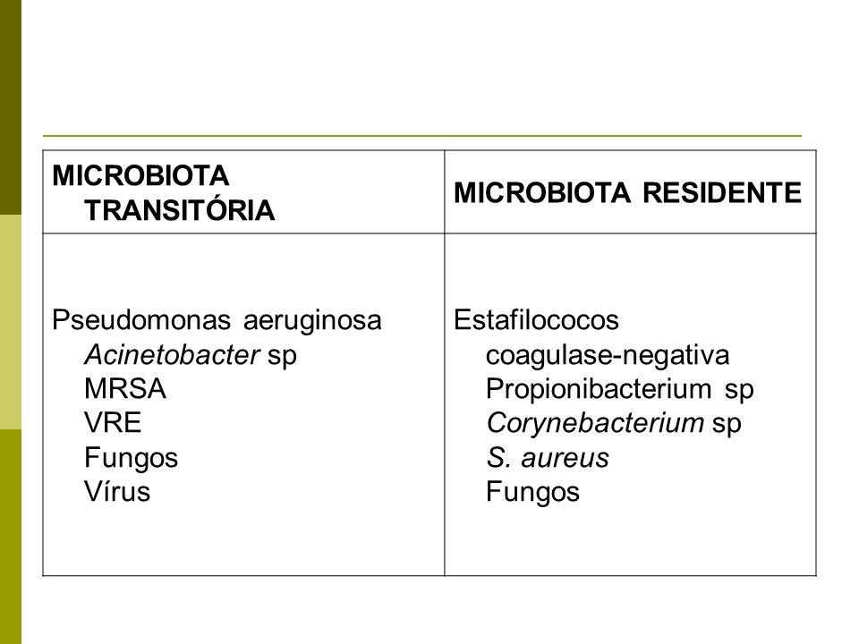 MICROBIOTA TRANSITÓRIA