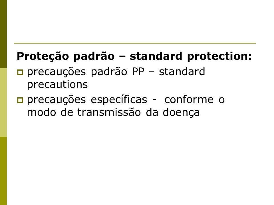 Proteção padrão – standard protection: