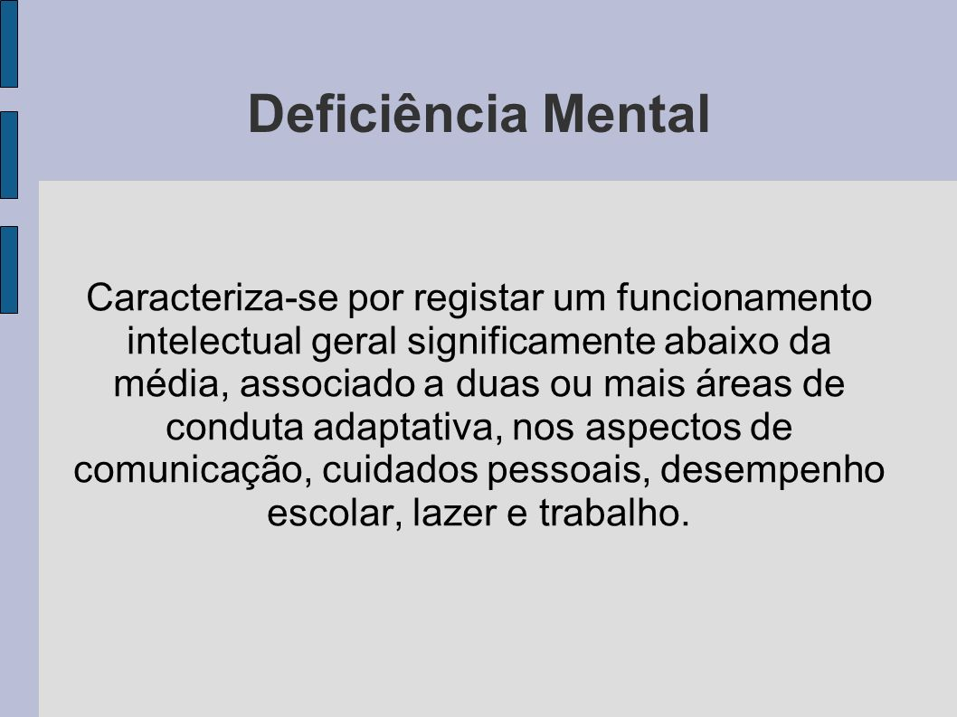Deficiência Mental