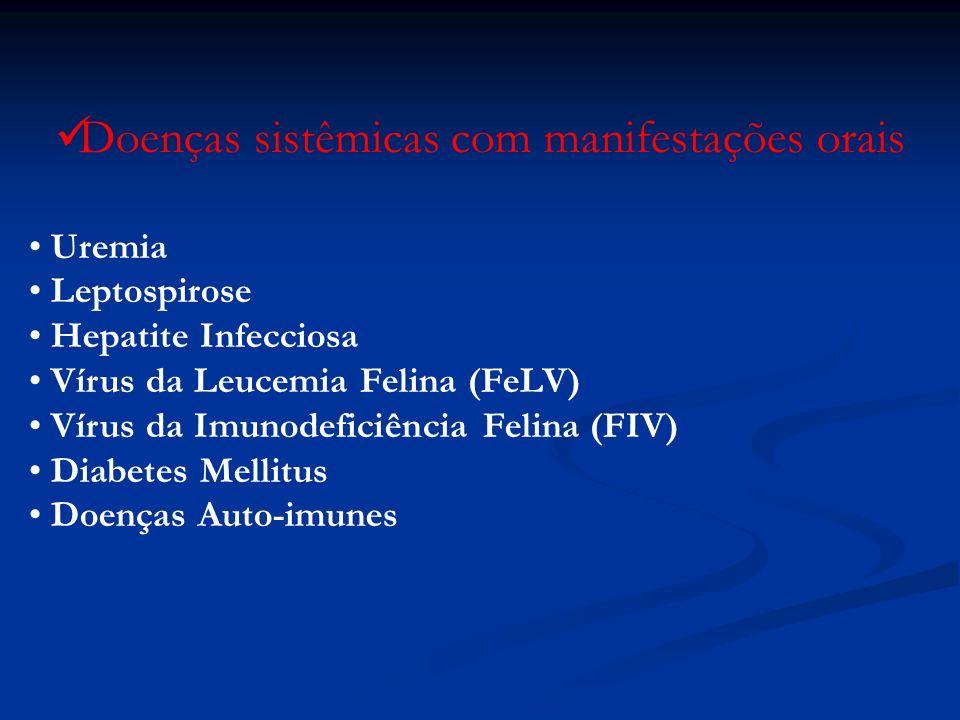 Doenças sistêmicas com manifestações orais