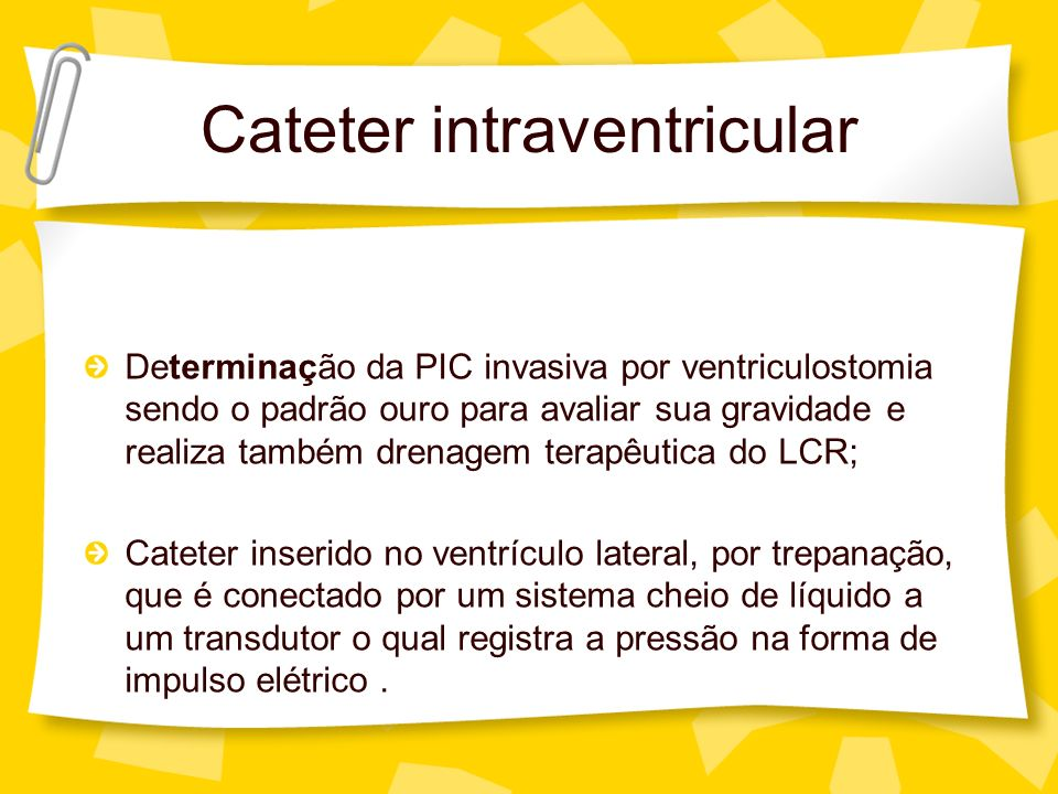 Cateter intraventricular