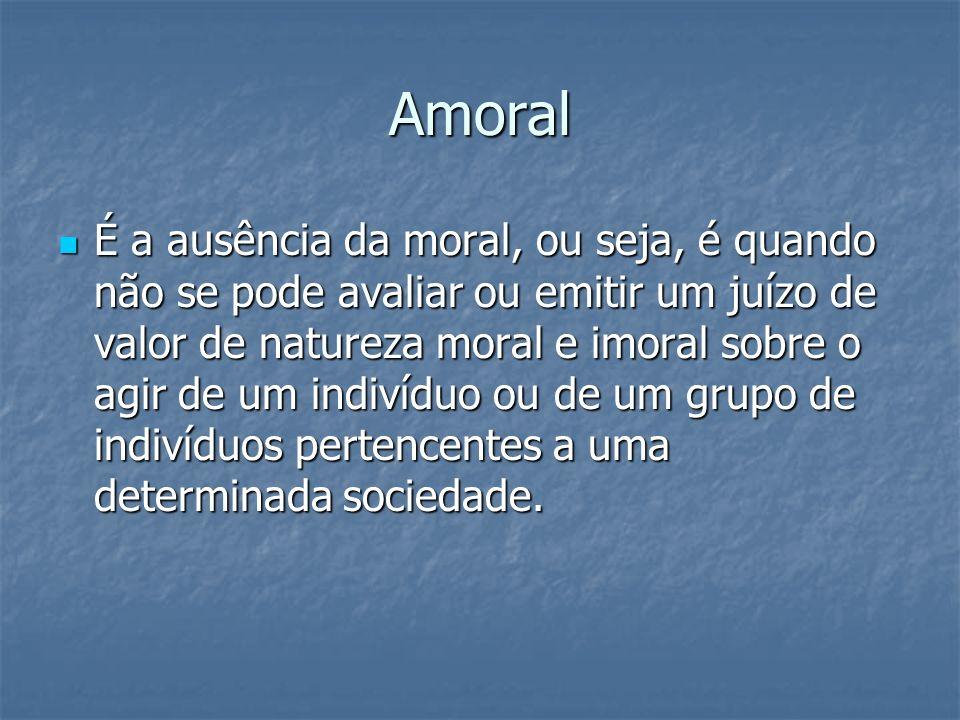 Amoral