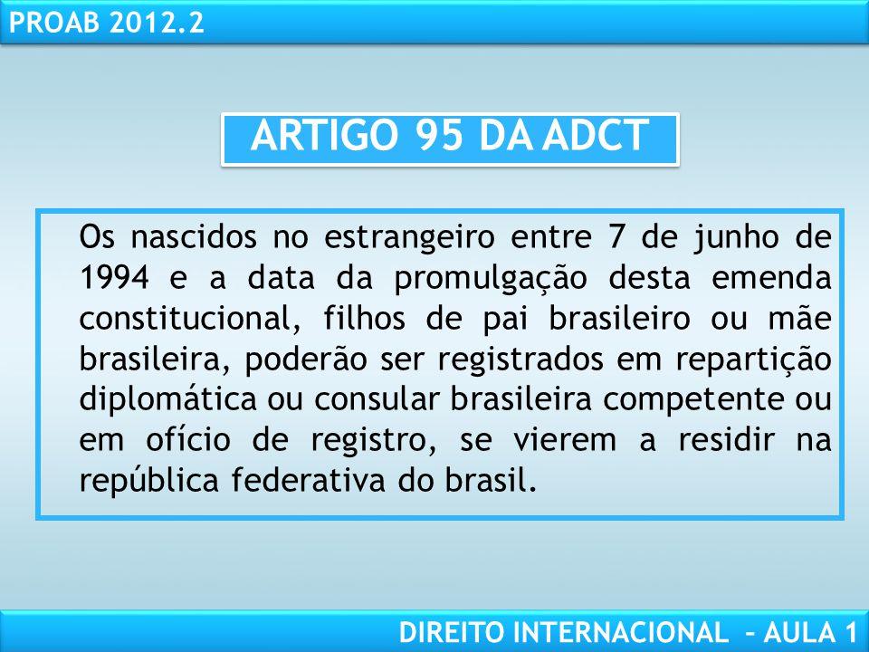 Artigo 10 da adct