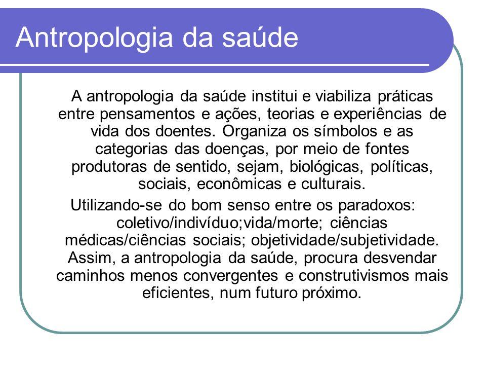 Antropologia da saúde