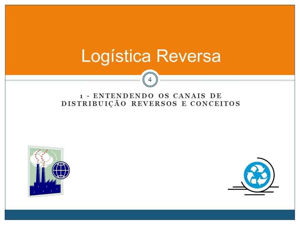 1 - ENTENDENDO OS CANAIS DE DISTRIBUIÇÃO REVERSOS E CONCEITOS