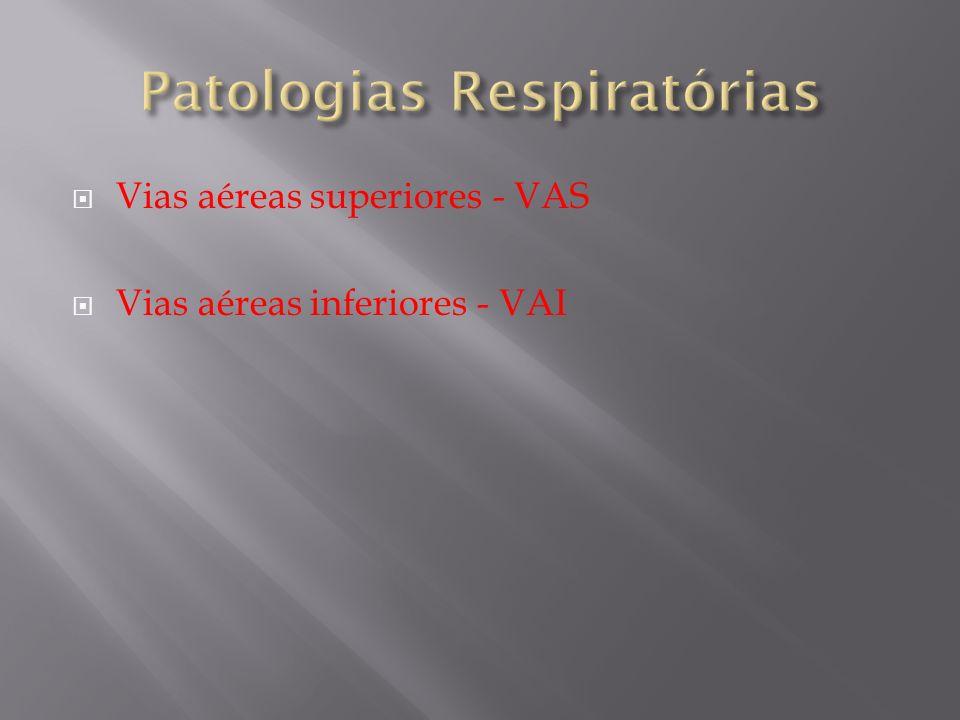 Patologias Respiratórias