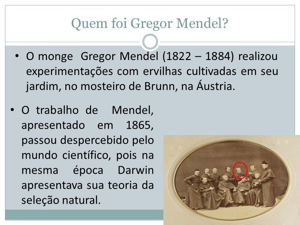 Quem foi Gregor Mendel