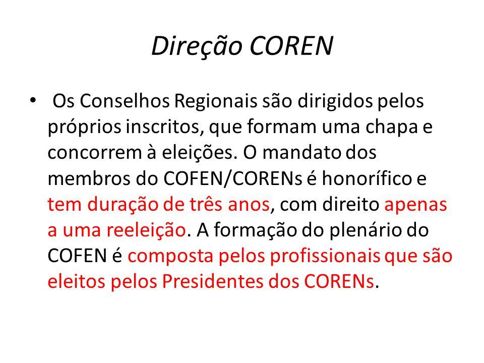 Direção COREN