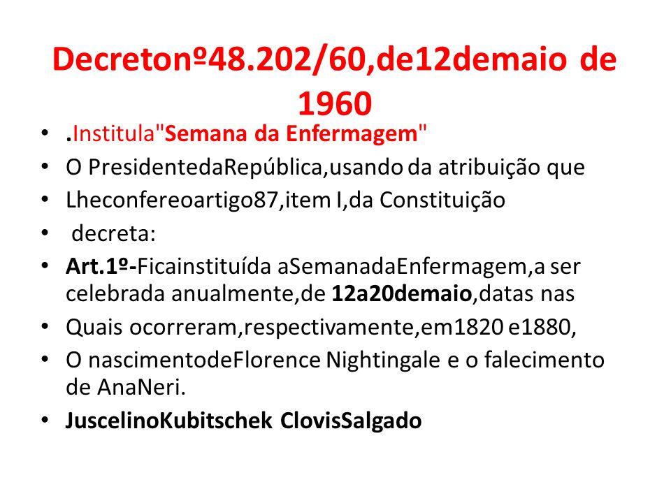 Decretonº48.202/60,de12demaio de 1960