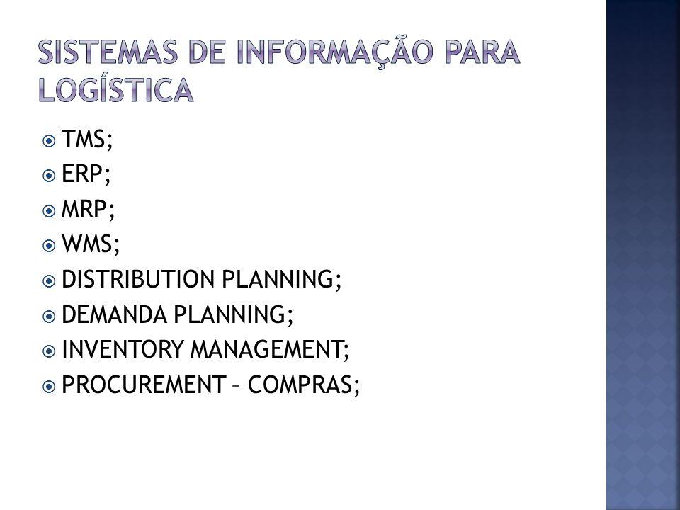 Sistemas de informação para logística