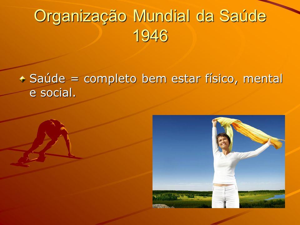 Organização Mundial da Saúde 1946