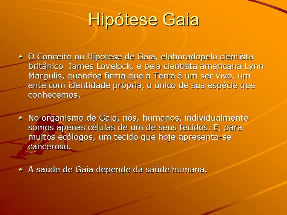 Hipótese Gaia