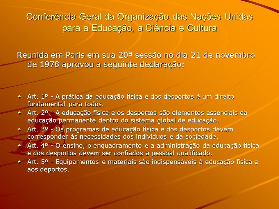 Conferência Geral da Organização das Nações Unidas para a Educação, a Ciência e Cultura